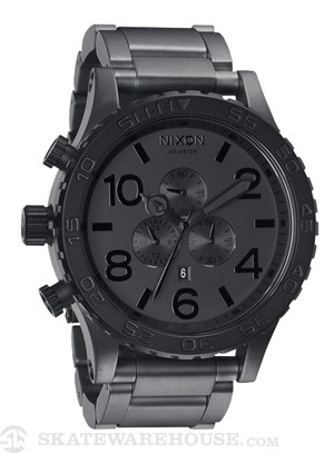 Nixon The 51-30 Chrono Watch  Matte Blk/Matte Gunmetal
