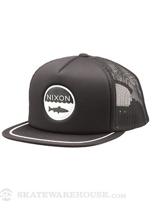 Nixon Bait Mesh Hat Black Adjust