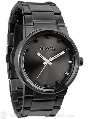 Nixon The Cannon Watch  All Gunmetal