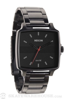 Nixon The Cruiser Watch  All Gunmetal/Black