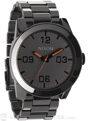Nixon The Corporal SS Watch  Steel Gray