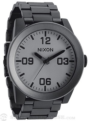 Nixon The Corporal SS Watch  Matte Black/Matte Gunmetal