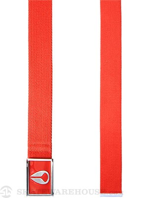 Nixon Enamel Wings Web Belt Red Adjustable