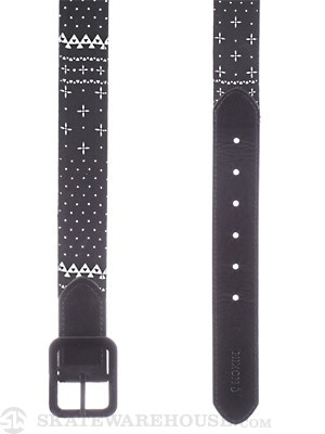 Nixon Faction Reversible Belt Guardsmen Black SM