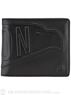 Nixon Graven Leather Wallet Black