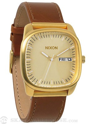 Nixon The Identity Watch  Gold/Saddle