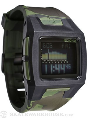 Nixon The Lodown II Watch  Black/Green Camo