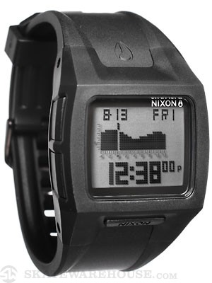 Nixon The Lodown II Watch  Black/Positive