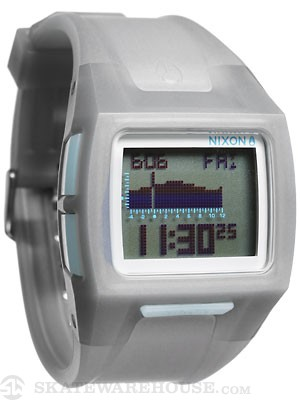 Nixon The Lodown II Watch  Translucent Charcoal