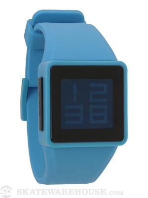 Nixon The Newton Digital Watch  Sky Blue
