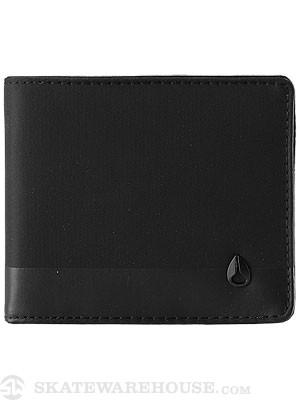 Nixon Phase Five Bi-Fold Wallet Black Nylon