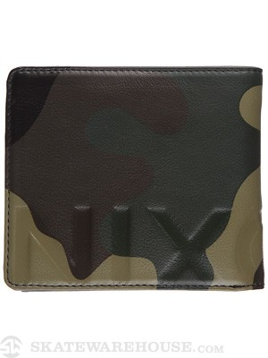Nixon Photo Album Wallet Woodland Camo