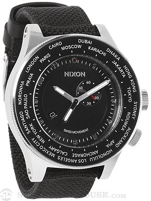 Nixon The Passport Watch  Black