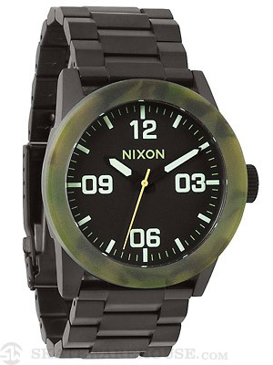 Nixon The Private SS Watch  Matte Black/Camo