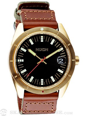 Nixon The Rover Watch  Surplus/Gold