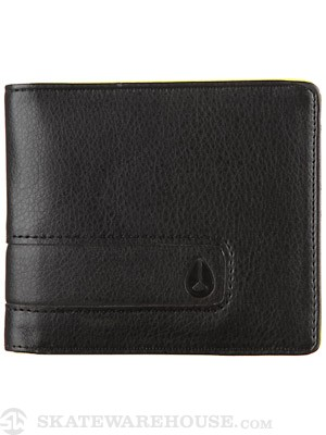 Nixon Showoff Wallet Black Lime