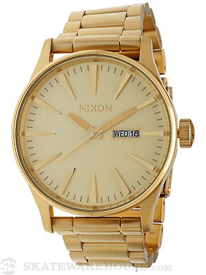 Nixon The Sentry SS Watch  All Gold