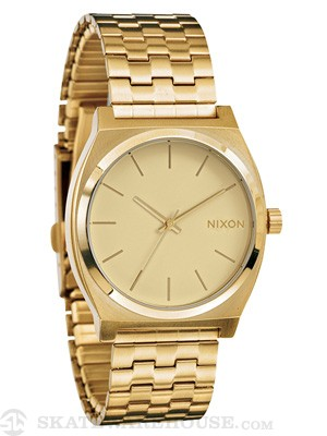 Nixon The Time Teller Watch All Gold