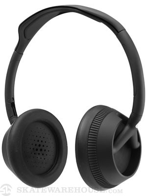 Trooper 3-Button Mic Headphones Matte Black