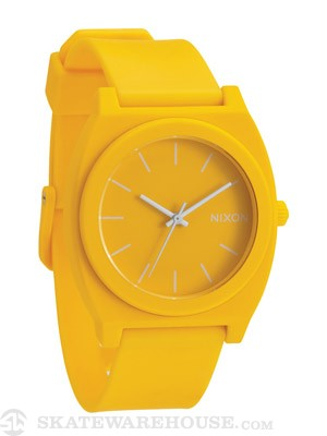 Nixon The Time Teller P Watch  Matte Yellow