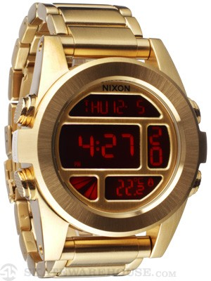 Nixon The Unit SS Watch  All Gold