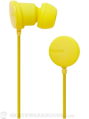 Nixon Wire P Headphones Yellow