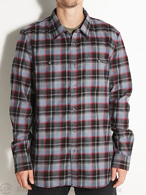 Oakley Winfield Woven Flannel Blue MD