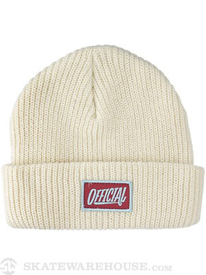 Official 1D Beanie Cream