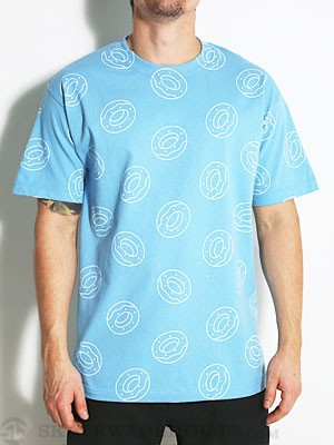 Odd Future Donut All Over Tee Blue MD