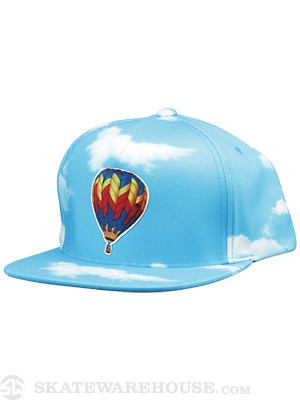 Odd Future Balloon Kitty Snapback Hat Blue