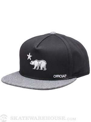 Official Cali Dolo Iced Snap Back Hat Black
