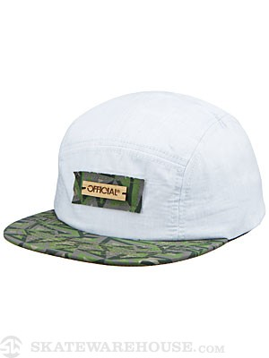 Official Geo Cham Camp Hat Chambray