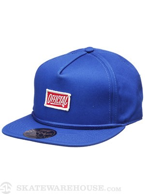 Official 1D Pequeno Strap Hat Blue