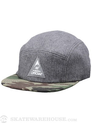 Official Qogir Camper Hat Grey Wool