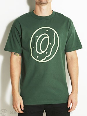 Odd Future Single Donut Tee Hunter Green MD