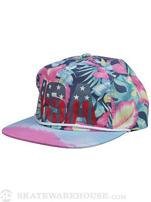 Official U.S.A. Kauai Hat Floral