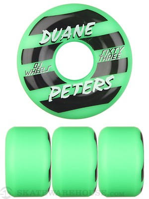 OJ Duane Peters Pro 101a Green Wheels