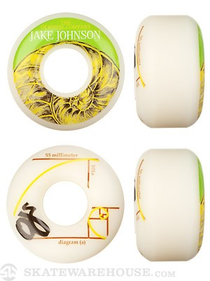 OJ Jake Johnson Pro 101a Wheels