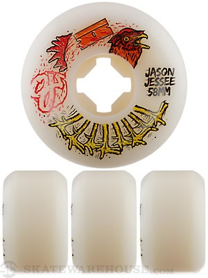 OJ Jessee Pro Rooster 101a Wheels 58mm