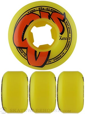 OJ Logo Family Yellow 99a Wheels