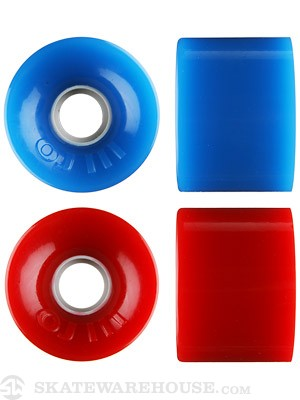 OJ Hot Juice 78a Trans Red & Blue Combo Wheels