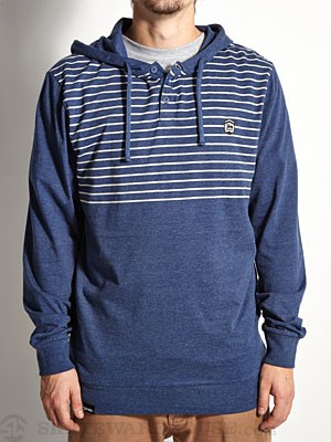 Organika Score Hooded Knit Blue Heather MD