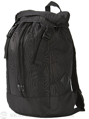 Organika Tree Ring Backpack Black
