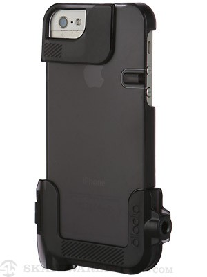 Olloclip Quick-Flip Case for iPhone 5 Translucent Black