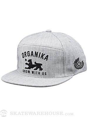 Organika Field Strapback Hat Athletic Hthr Adj