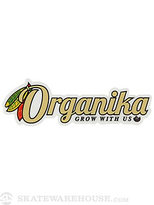 Organika Feathers Sticker