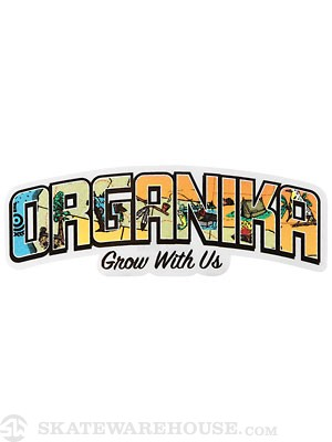 Organika Trails Sticker