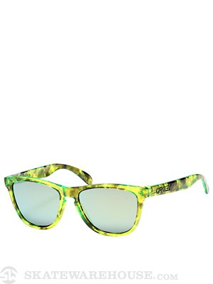 Oakley Acid Tortoise Green Frogskins Sunglasses