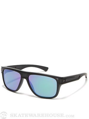 Oakley Breadbox Sunglasses Matte Black Ink w/Jade