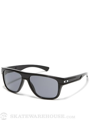 Oakley Breadbox Sunglasses Polished Black w/Grey